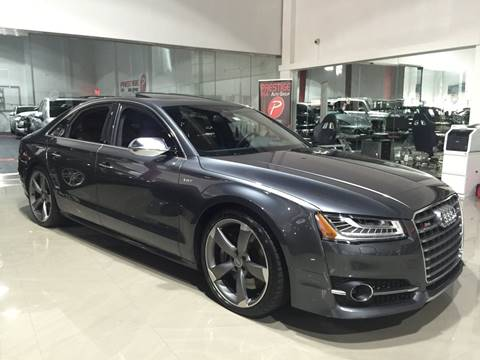 2015 Audi S8 for sale at Prestige USA Auto Group in Miami FL