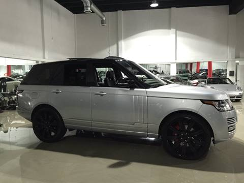 2014 Land Rover Range Rover for sale at Prestige USA Auto Group in Miami FL