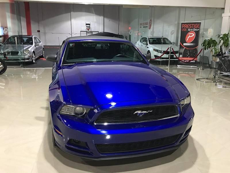 Vehicle Options & 2014 Ford Mustang V6 2dr Convertible In Miami FL - Prestige USA ... markmcfarlin.com