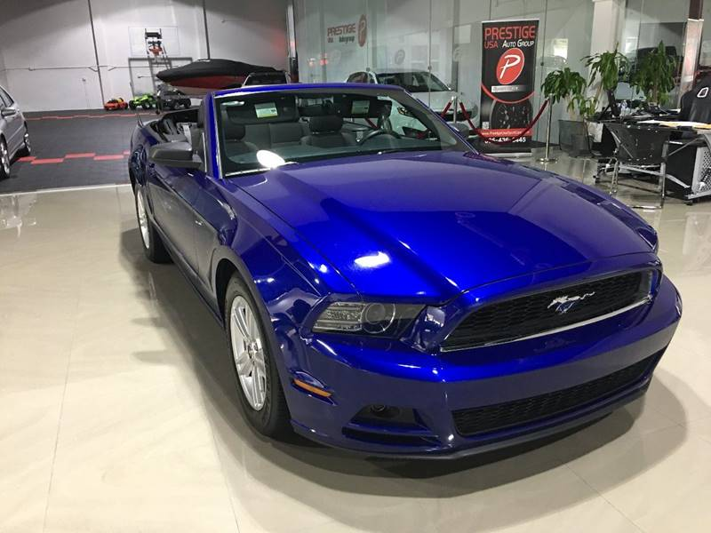 vehicle options - Mustang 2014 Purple