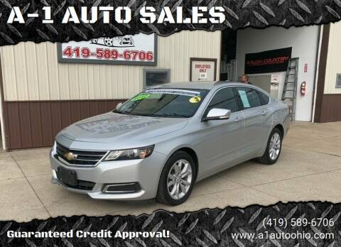 2017 Chevrolet Impala for sale at A-1 AUTO SALES in Mansfield OH