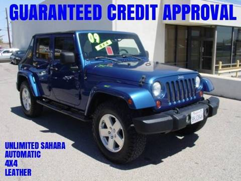 2009 Jeep Wrangler Unlimited for sale in Victorville, CA