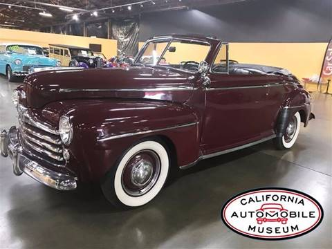 1947 Ford Super Deluxe for sale in Sacramento, CA