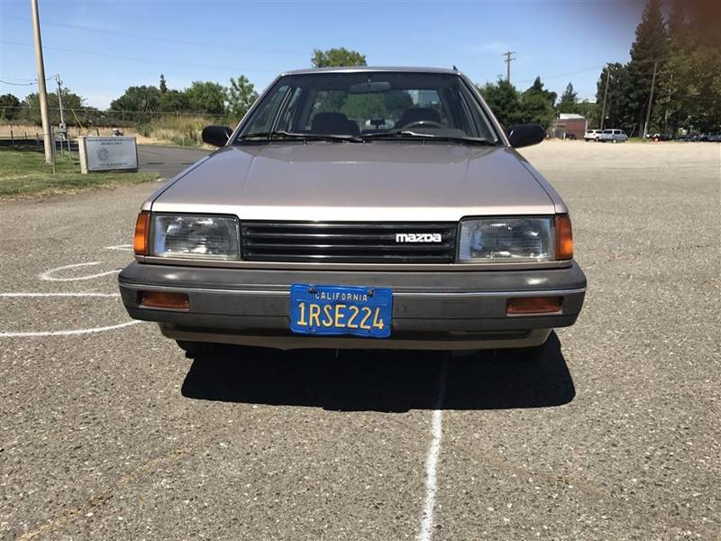 1986 Mazda 323 Deluxe 4dr Sedan - Sacramento CA