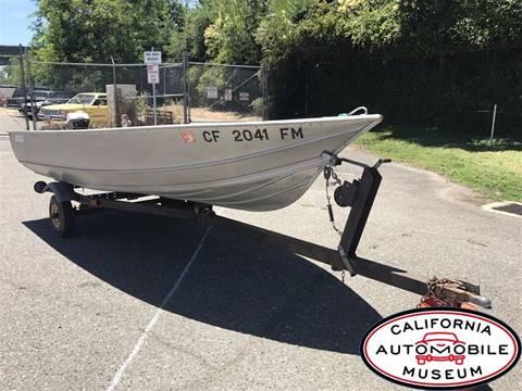 1974 Gregor Aluminum Fishing Boat