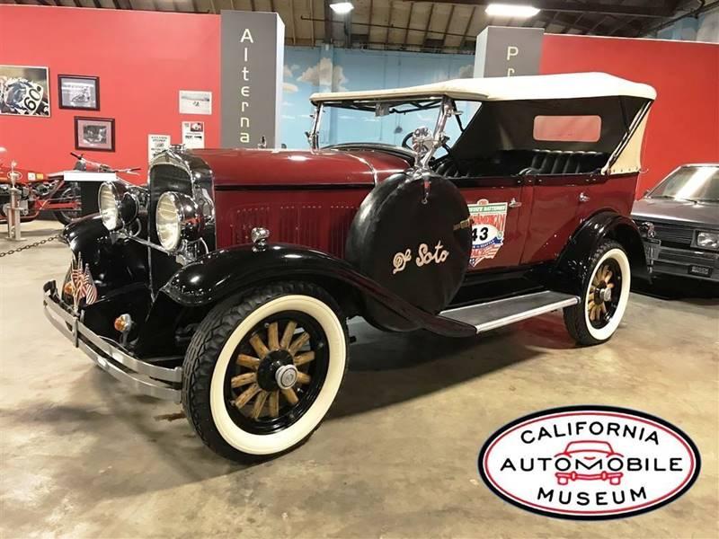 California Automobile Museum - Classic Cars For Sale - Sacramento CA ...