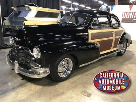 1947 Chevrolet Fleetmaster For Sale In Sacramento Ca