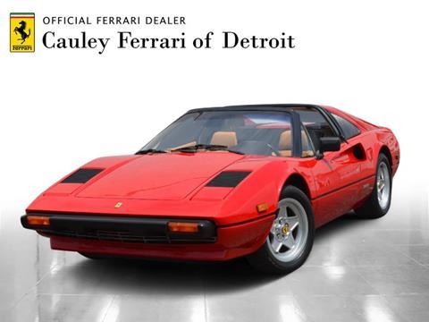 1981 Ferrari 308 Gtsi For Sale In West Bloomfield Mi