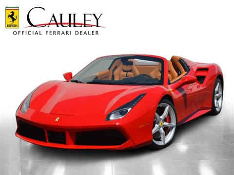 2017 Ferrari 488 Spider >> 2017 Ferrari 488 Spider For Sale In West Bloomfield Mi