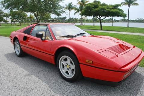 1986 Ferrari 328 GTS for sale at VA Leasing Corporation in Doral FL
