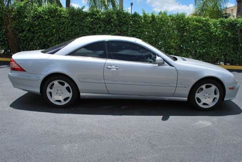2003 Mercedes-Benz CL-Class for sale at VA Leasing Corporation in Doral FL