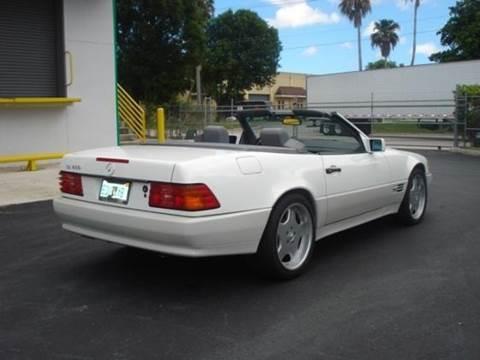 1995 Mercedes-Benz SL-Class for sale at VA Leasing Corporation in Doral FL