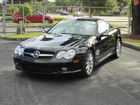 2005 Mercedes-Benz SL-Class for sale at VA Leasing Corporation in Doral FL