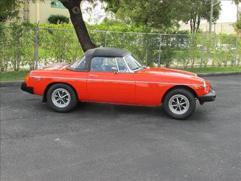 1980 MG MGB for sale at VA Leasing Corporation in Doral FL