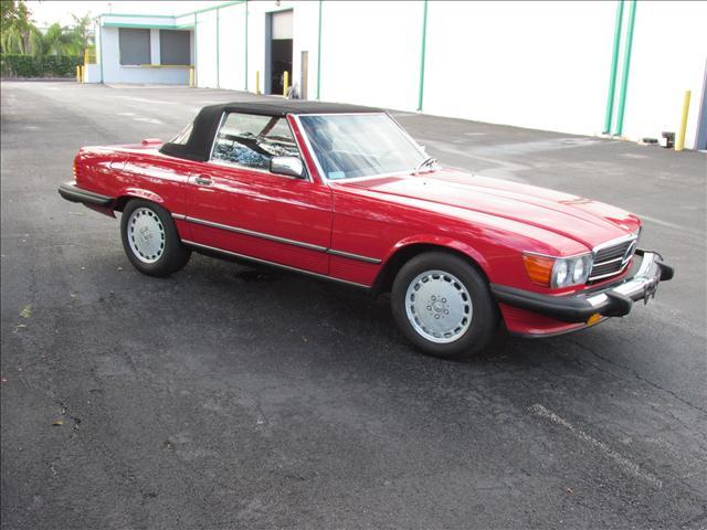 1989 Mercedes-Benz SL-Class for sale at VA Leasing Corporation in Doral FL