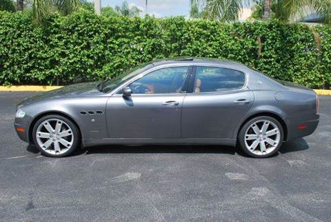 2006 Maserati Quattroporte for sale at VA Leasing Corporation in Doral FL