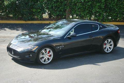 2011 Maserati GranTurismo for sale at VA Leasing Corporation in Doral FL