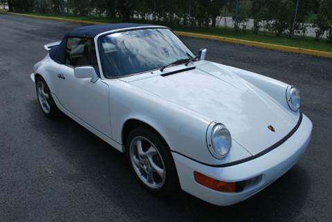 1990 Porsche 911 for sale at VA Leasing Corporation in Doral FL