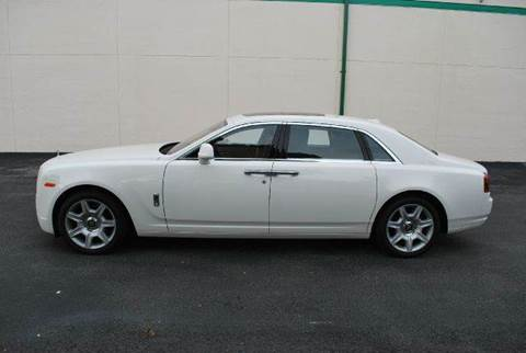 2012 Rolls-Royce Ghost for sale at VA Leasing Corporation in Doral FL
