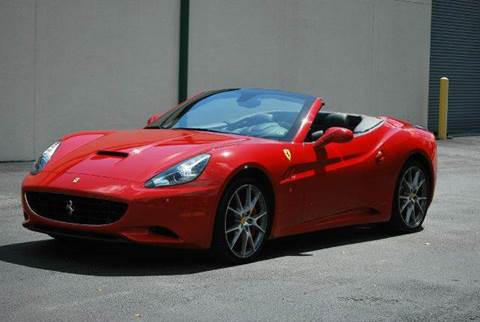 2014 Ferrari California for sale at VA Leasing Corporation in Doral FL