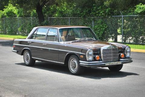 1972 Mercedes-Benz 280-Class for sale at VA Leasing Corporation in Doral FL