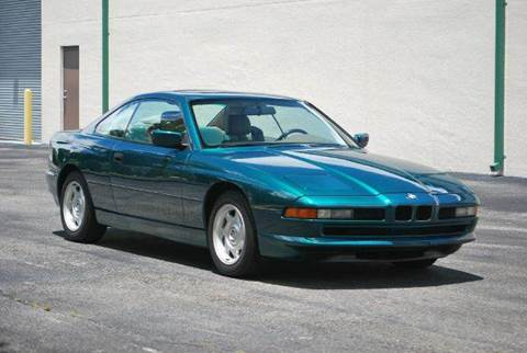 1991 BMW 8 Series for sale at VA Leasing Corporation in Doral FL