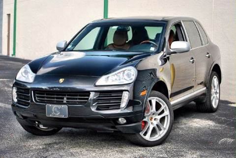 2008 Porsche Cayenne for sale at VA Leasing Corporation in Doral FL
