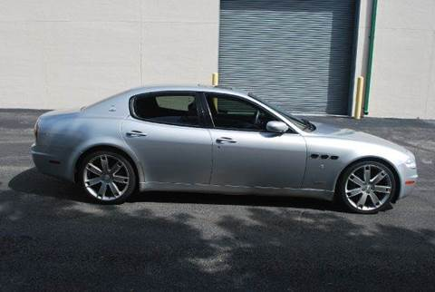 2008 Maserati Quattroporte for sale at VA Leasing Corporation in Doral FL