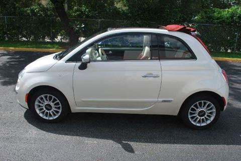 2013 FIAT 500c for sale at VA Leasing Corporation in Doral FL
