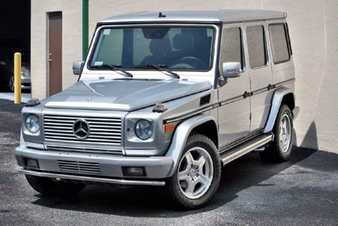 2003 Mercedes-Benz G-Class for sale at VA Leasing Corporation in Doral FL