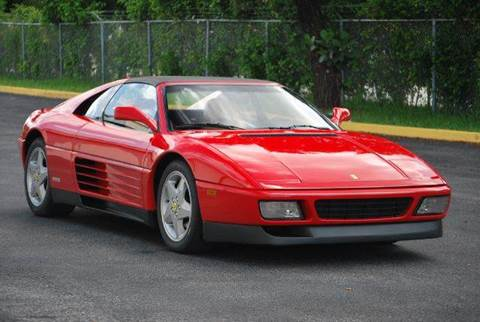 1992 Ferrari 348 for sale at VA Leasing Corporation in Doral FL