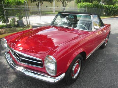 1966 Mercedes-Benz SL-Class for sale at VA Leasing Corporation in Doral FL