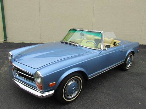 1970 Mercedes-Benz SL-Class for sale at VA Leasing Corporation in Doral FL