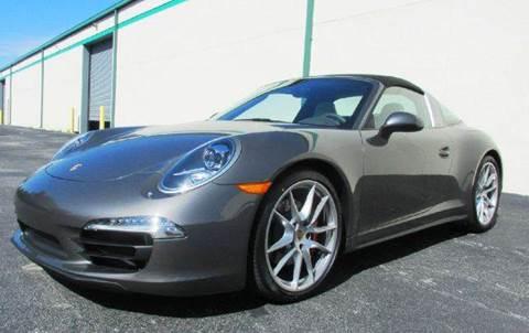 2015 Porsche 911 for sale at VA Leasing Corporation in Doral FL