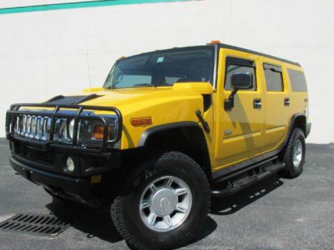 2004 HUMMER H2 for sale at VA Leasing Corporation in Doral FL