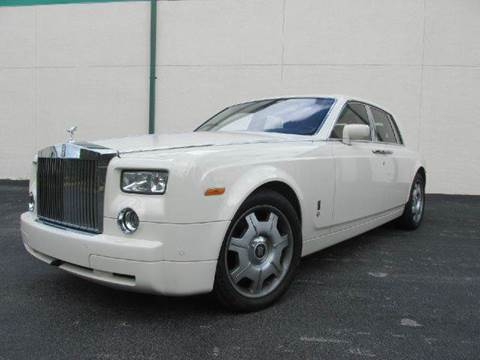 2006 Rolls-Royce Phantom for sale at VA Leasing Corporation in Doral FL
