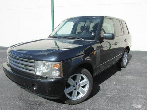 2004 Land Rover Range Rover for sale at VA Leasing Corporation in Doral FL