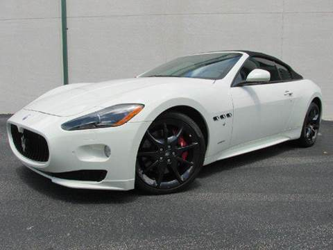 2012 Maserati GranTurismo for sale at VA Leasing Corporation in Doral FL