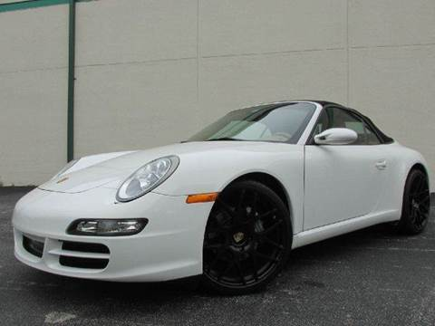 2007 Porsche 911 for sale at VA Leasing Corporation in Doral FL