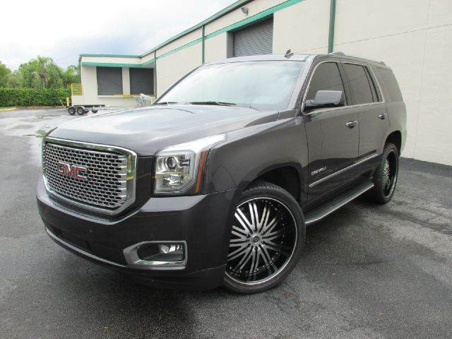 2015 GMC Yukon for sale at VA Leasing Corporation in Doral FL