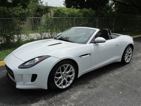 2014 Jaguar F-TYPE for sale at VA Leasing Corporation in Doral FL
