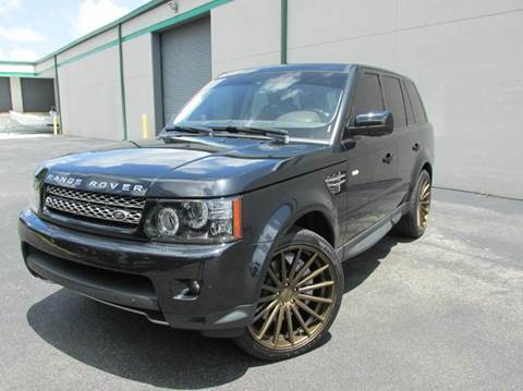 2012 Land Rover Range Rover Sport for sale at VA Leasing Corporation in Doral FL