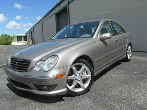 2007 Mercedes-Benz C-Class for sale at VA Leasing Corporation in Doral FL