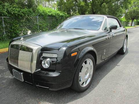 2006 Rolls-Royce Phantom for sale at VA Leasing Corporation in Doral FL