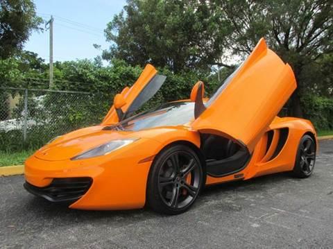 2012 McLaren MP4-12C for sale at VA Leasing Corporation in Doral FL