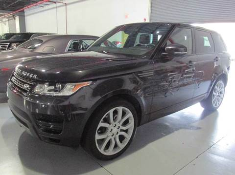 2014 Land Rover Range Rover Sport for sale at VA Leasing Corporation in Doral FL