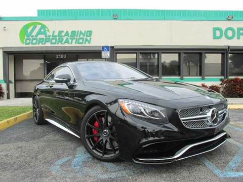 2015 Mercedes-Benz S-Class for sale at VA Leasing Corporation in Doral FL