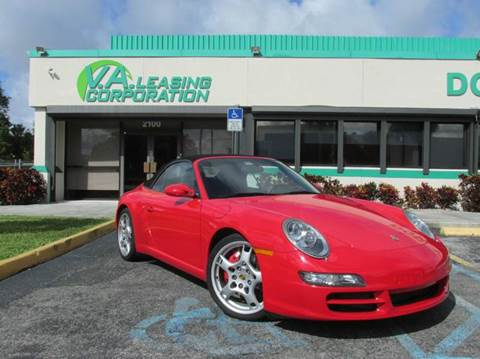 2006 Porsche 911 for sale at VA Leasing Corporation in Doral FL
