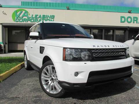 2013 Land Rover Range Rover Sport for sale at VA Leasing Corporation in Doral FL