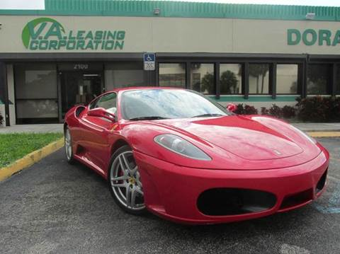 2005 Ferrari F430 for sale at VA Leasing Corporation in Doral FL